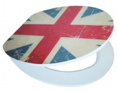 Union Jack EDHGUJ01 MDF, WC sedátko softclose